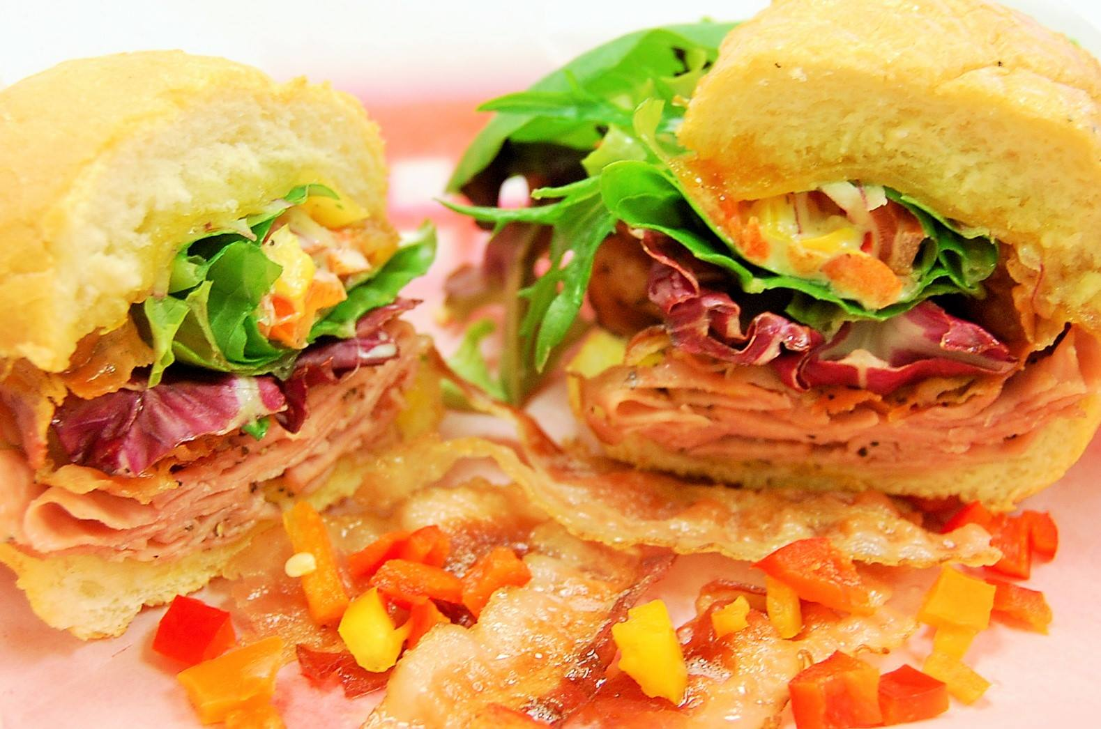 Turkey, Bacon and Chutney Sliders